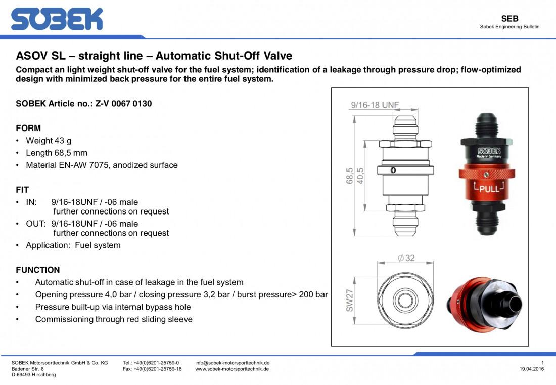 Fuel tank shutoff valve