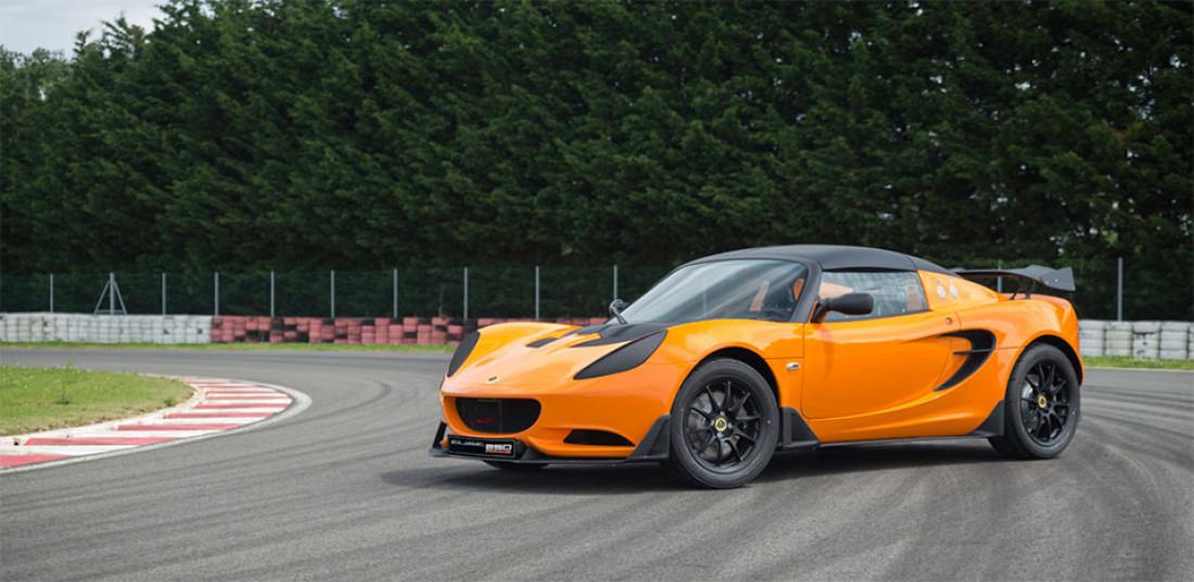 Lotus Exige 250 Track Orange
