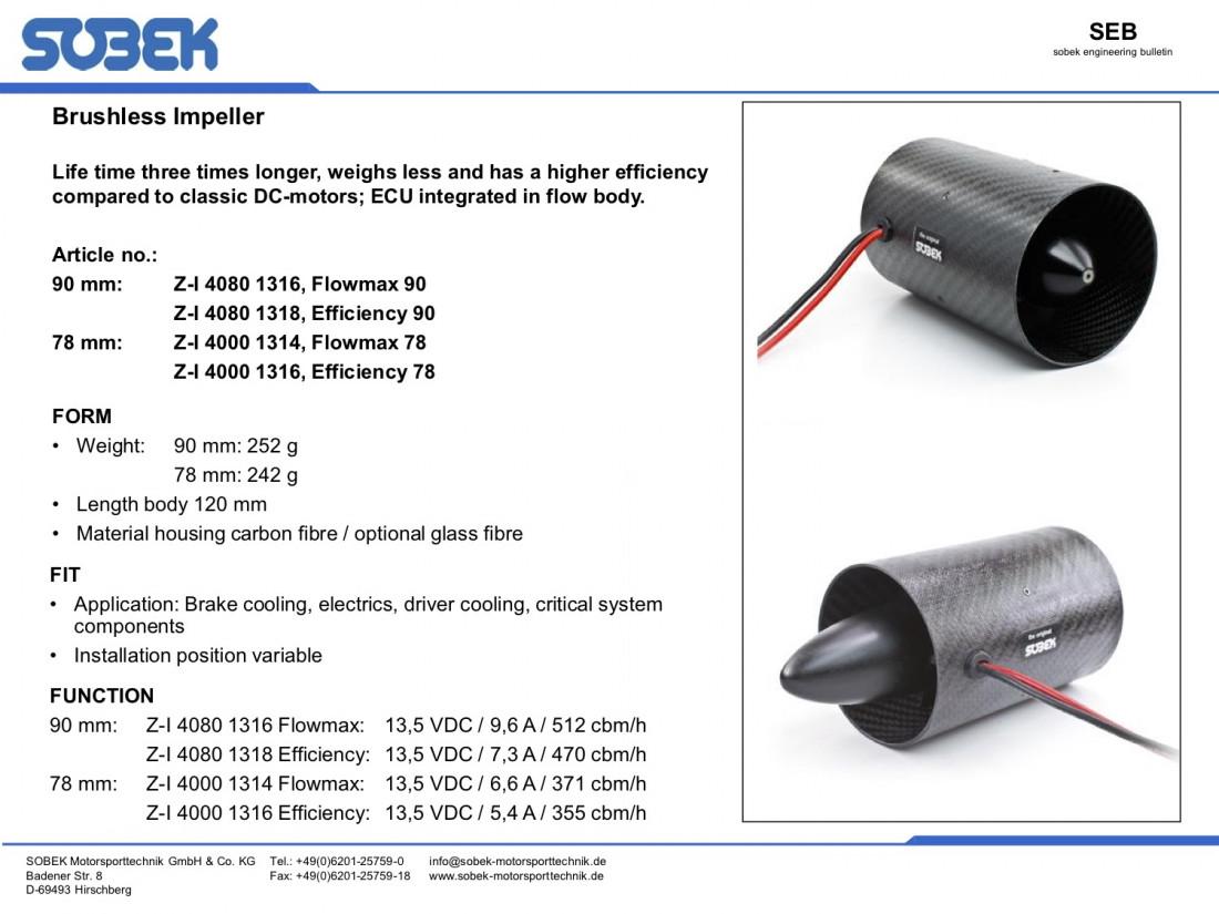 Sobek Motorsport Brushless Impeller