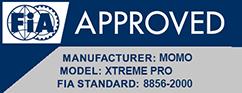 MOMO Xtreme Pro FIA approved
