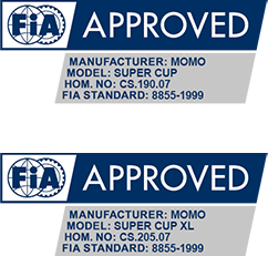 MOMO Super Cup FIA approved
