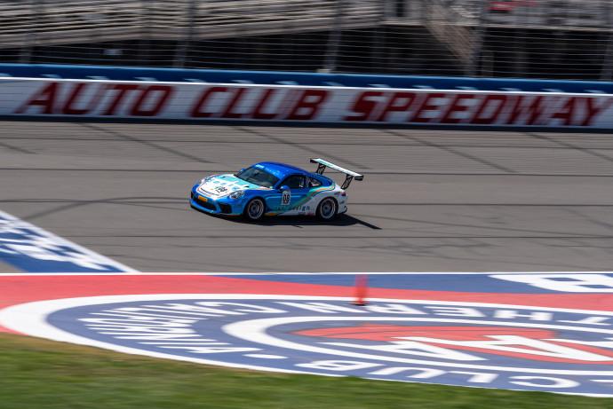 Auto Club Speedway Porsche