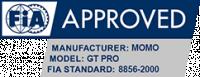 MOMO FIA approval GT Pro shoe