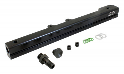 AEM High Volume Fuel Rail for Honda D16Y7 & D16Y8