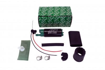 AEM 340LPH E85-Compatible High Flow In-Tank Fuel Pumps (Offset Inlet)