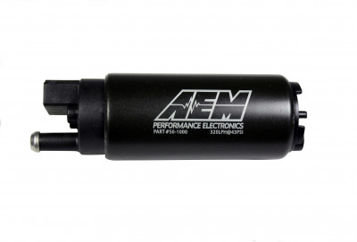 AEM 340lph High Flow In-Tank Fuel Pump (Offset Inlet)