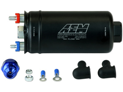 AEM 400LPH Inline High Flow Fuel Pump