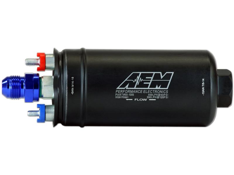 AEM 400LPH Inline High Flow Fuel Pump
