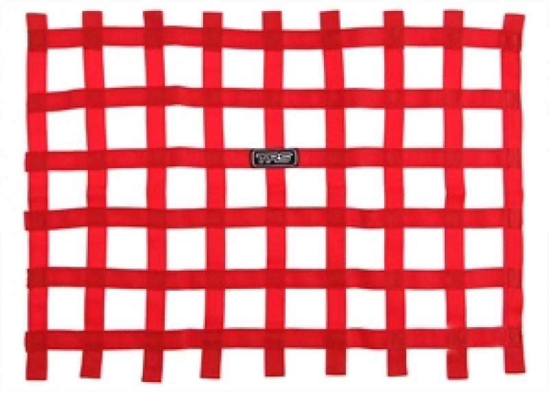 TRS Window Net Red