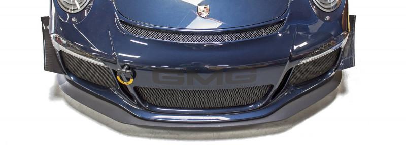 GMG Porsche 991 dive planes installed