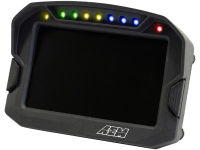 AEM CD-5 Digital Dash LEDs on