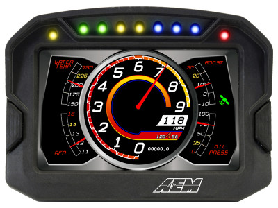 AEM CD-5 Digital Dash demo