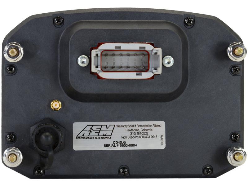 AEM CD-5 Digital Dash rear