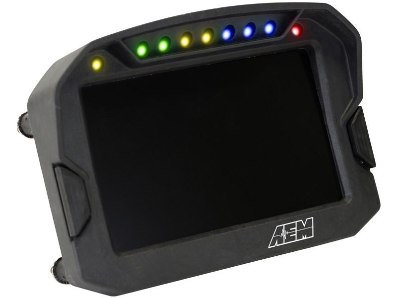 AEM CD-5 Digital Dash LEDs on