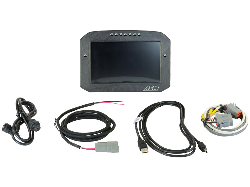 AEM CD-7 Carbon Flat Panel Digital Racing Dash Display 30-5701F