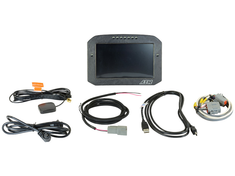 AEM CD-7 Carbon Flat Panel Digital Racing Dash Display 30-5703F