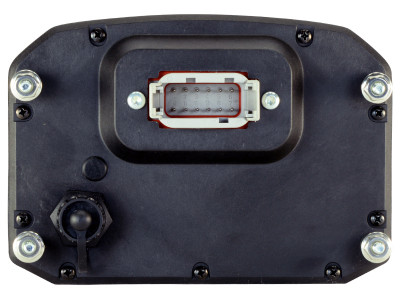 AEM CD-5 Carbon Flat Panel Digital Racing Dash Display Rear