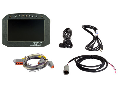AEM CD-5 Carbon Flat Panel Digital Racing Dash Display 36501F