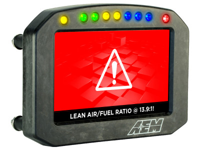 AEM CD-5 Carbon Flat Panel Digital Racing Dash Display demo