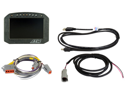 AEM CD-5 Carbon Flat Panel Digital Racing Dash Display 36500F
