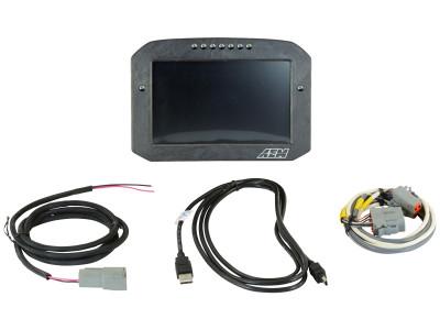 AEM CD-7 Carbon Flat Panel Digital Racing Dash Display Non-Logging / Non-GPS