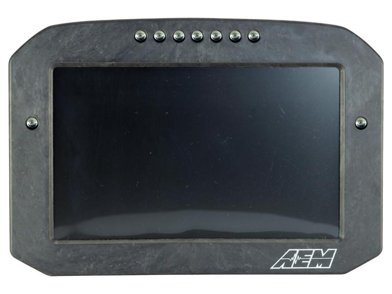 AEM CD-7 Carbon Flat Panel Digital Racing Dash Display Face