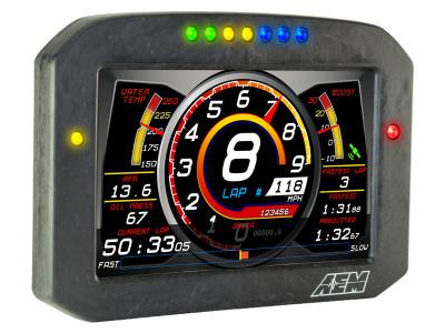 AEM CD-7 Carbon Flat Panel Digital Racing Dash Display demo