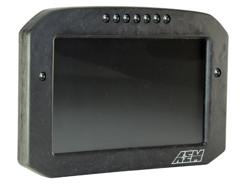 AEM CD-7 Carbon Flat Panel Digital Racing Dash Display