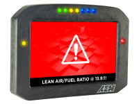 AEM CD-7 Carbon Flat Panel Digital Racing Dash Display demo