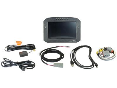 AEM CD-7 Carbon Flat Panel Digital Racing Dash Display Logging and GPS Enabled