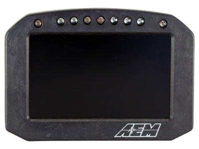 AEM CD-5 Carbon Flat Panel Digital Racing Dash Display Face