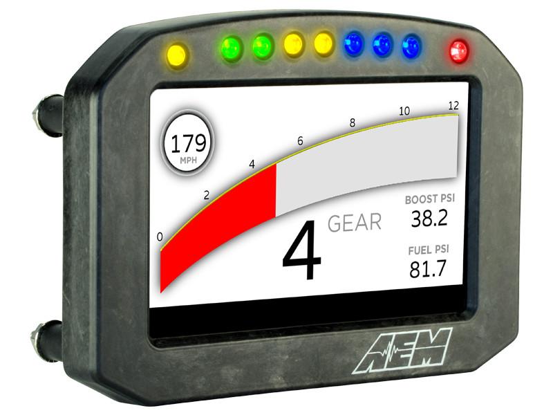 AEM CD-5 Carbon Flat Panel Digital Racing Dash Display demo