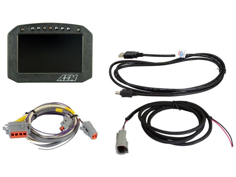 AEM CD-5 Carbon Flat Panel Digital Racing Dash Display 305600F
