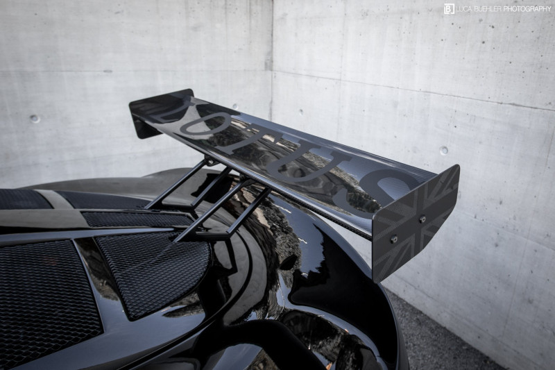 Lotus Exige S2 Carbon Rear Wing Kit (Straight) 225mm Chord x W1245mm (adjustable)