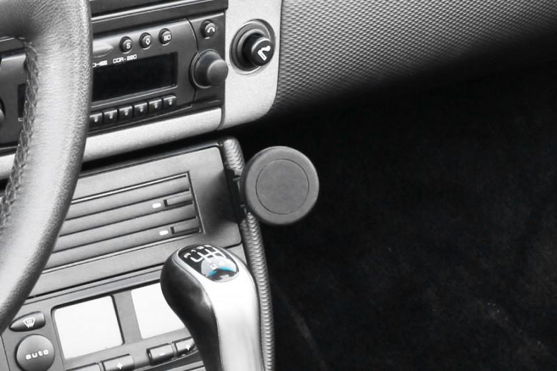 Rennline ExactFit Screw-in Magnetic Phone Mount for Porsche 996/986