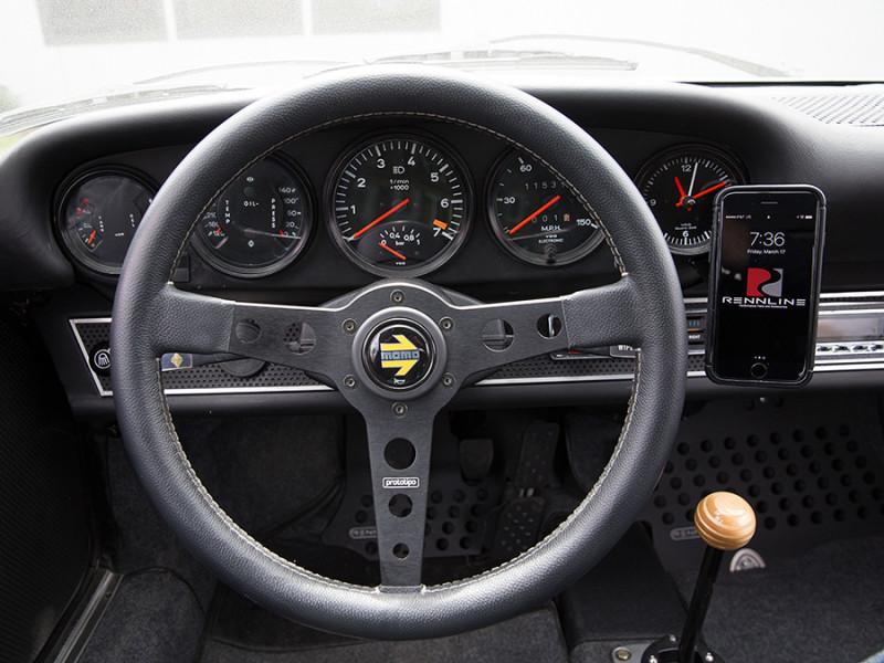 Rennline ExactFit Screw-in Magnetic Phone Mount for Porsche 911