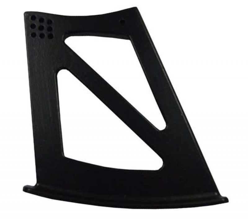 Reverie Wing Support Mounts for Lotus Elise/Exige (S2) 12mm Alloy, High Level - Black