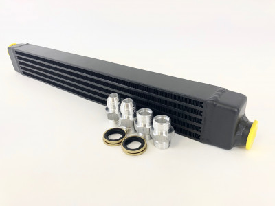 CSF BMW E30 High Performance Oil Cooler w/ Adjustable Fittings and AN-10 male connections