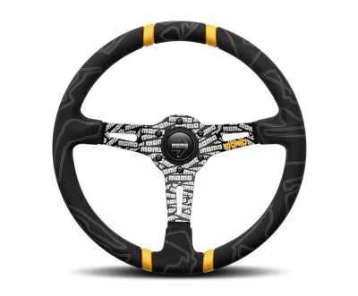 MOMO ULTRA Steering Wheel Black