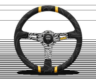 MOMO ULTRA Steering Wheel Black