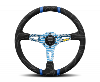 MOMO ULTRA Steering Wheel Blue
