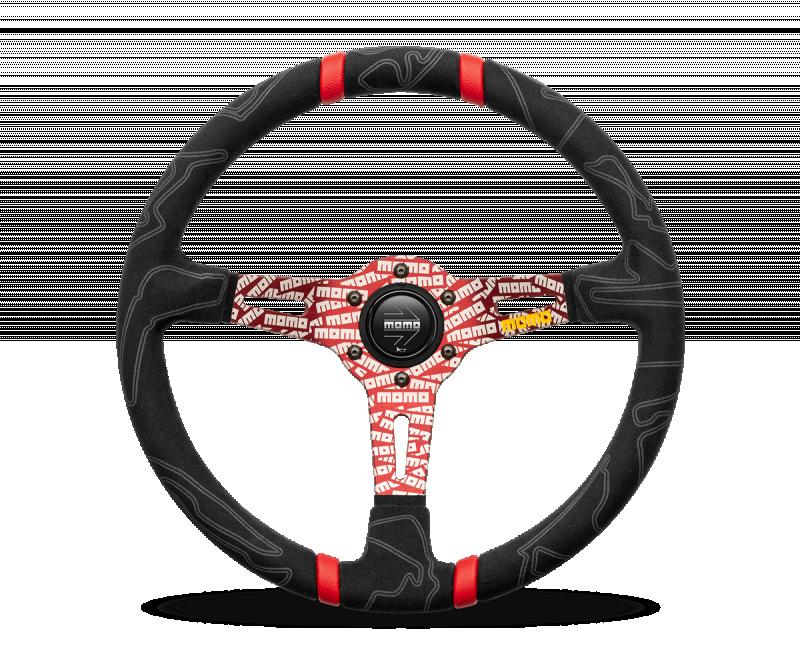 MOMO ULTRA Steering Wheel Red