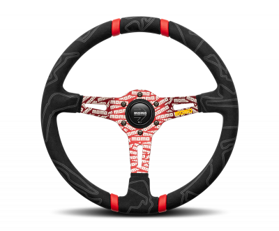 MOMO ULTRA Steering Wheel Red