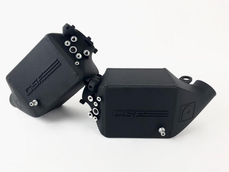 CSF BMW F1X M5, M6 / N54 Twin Charge-Air-Cooler Set Crinkle Black