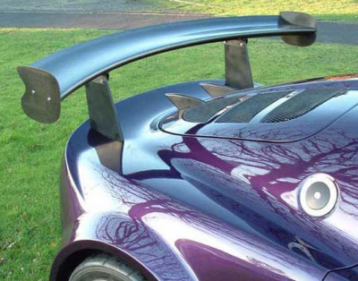 Lotus Exige S2 wing mount blanking plates