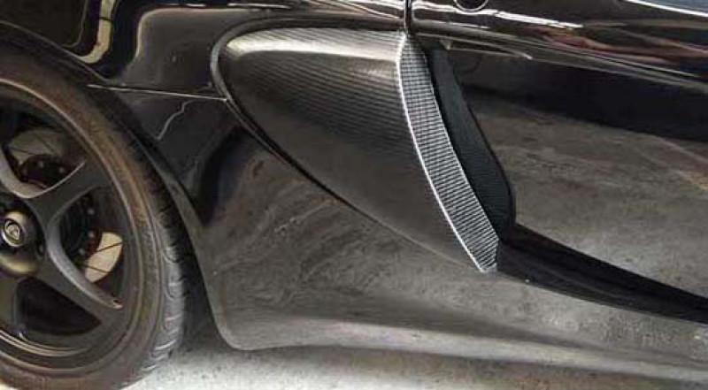 Reverie Lotus Elise S2 111R/111S Carbon Fibre Side Intake Scoops - Pair