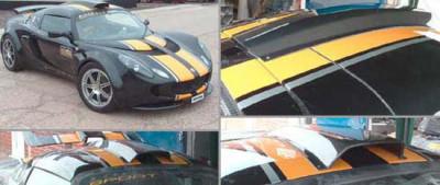 Reverie Lotus Exige S2 Carbon Fibre Roof Scoop