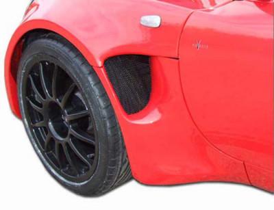 Lotus Elise S2 GRP Front Wheel Arch Kit (Internal Flange)