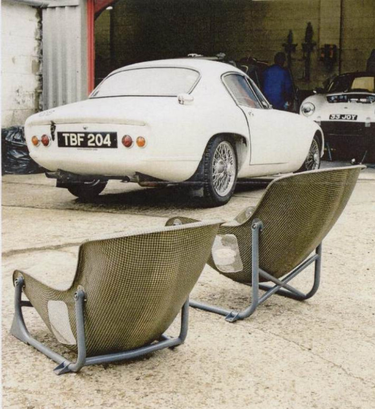 Tillett W1K ready for a Lotus Elite