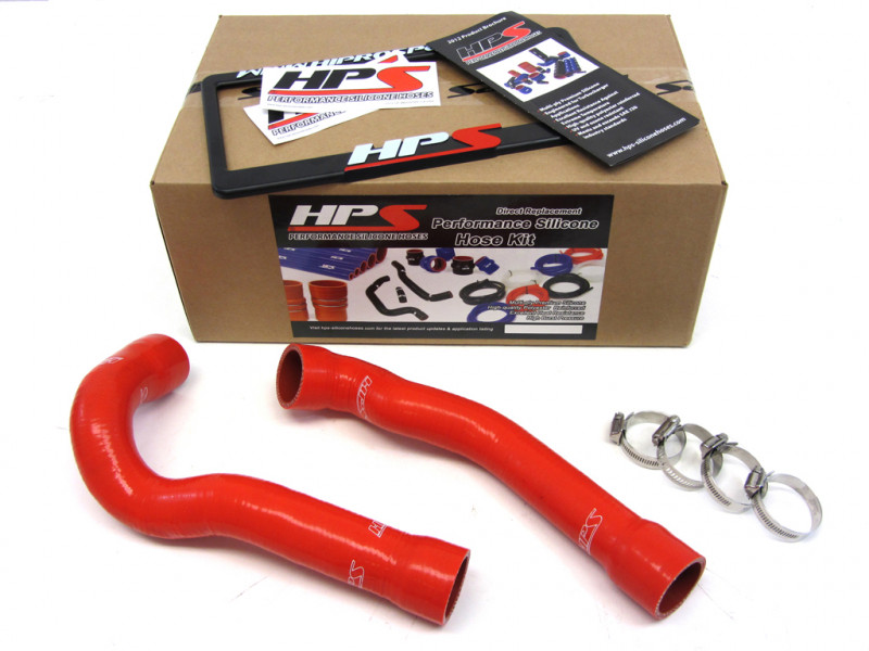 BMW 92-99 E36 325 / M3 High Temp Reinforced Silicone Radiator Hose Kit Coolant OEM Replacement - Red